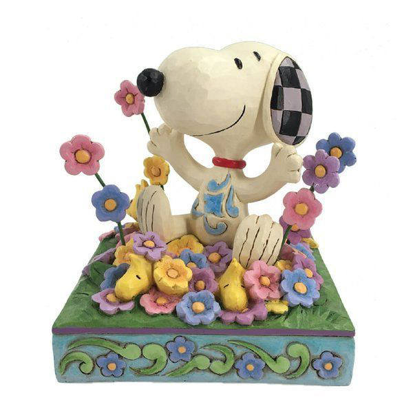 6007965 Hallmark Snoopy in flowers