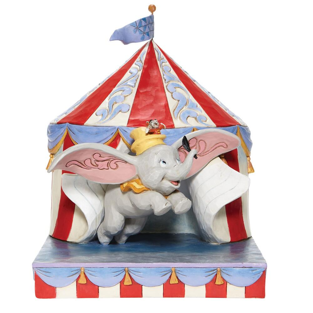 Dumbo Flying out of Tent