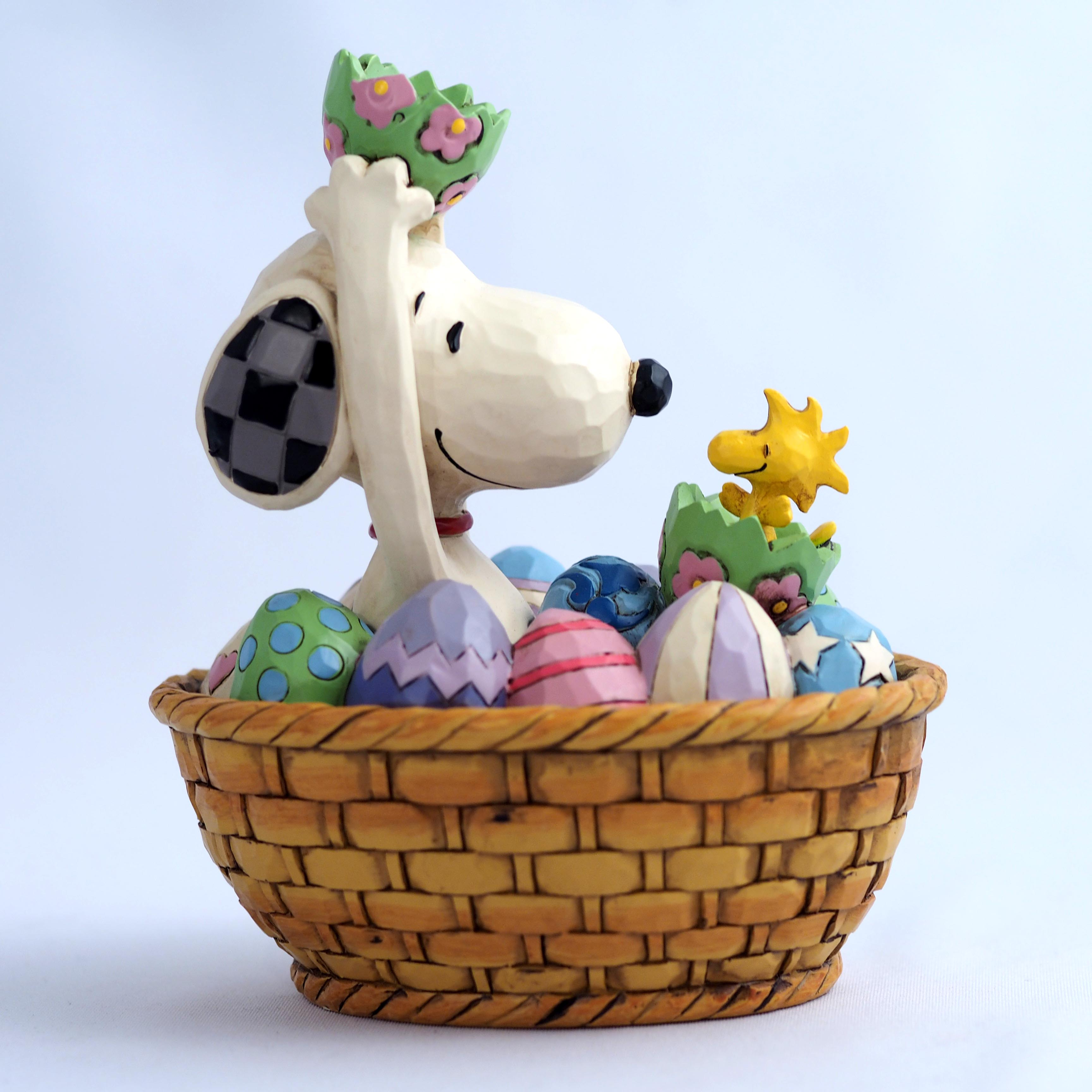 6005945 Snoopy and Woodstock Easter Basket