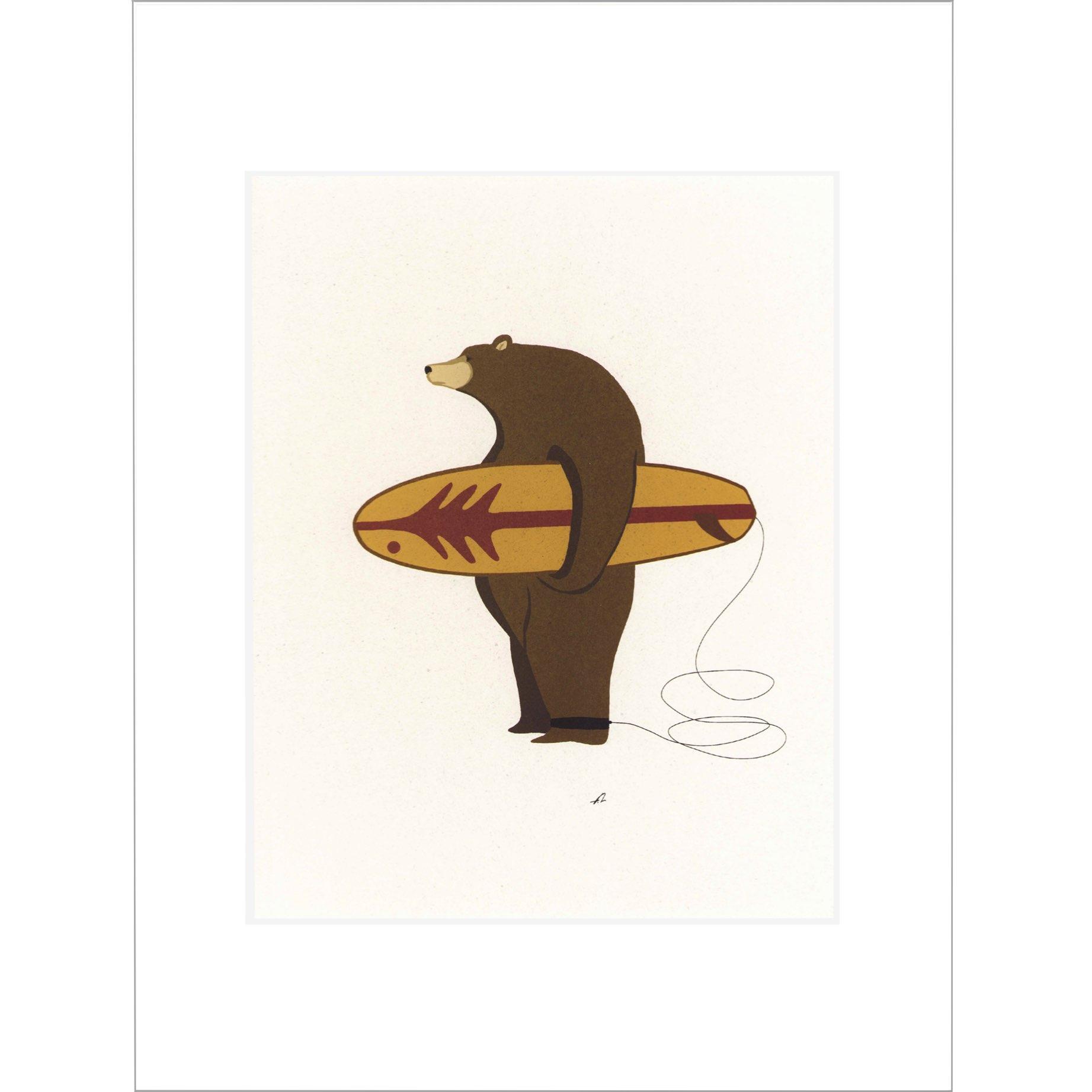 Surfing Bear Ventana Surfboards / 長 / matt / M