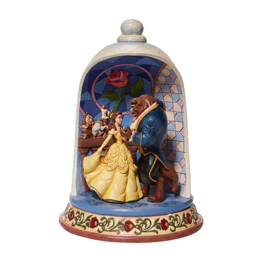 Beauty and the Beast Rose Dome