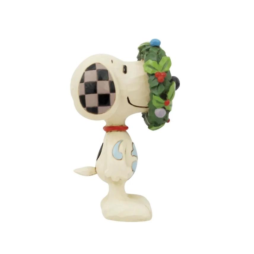 Mini Snoopy in Wreath