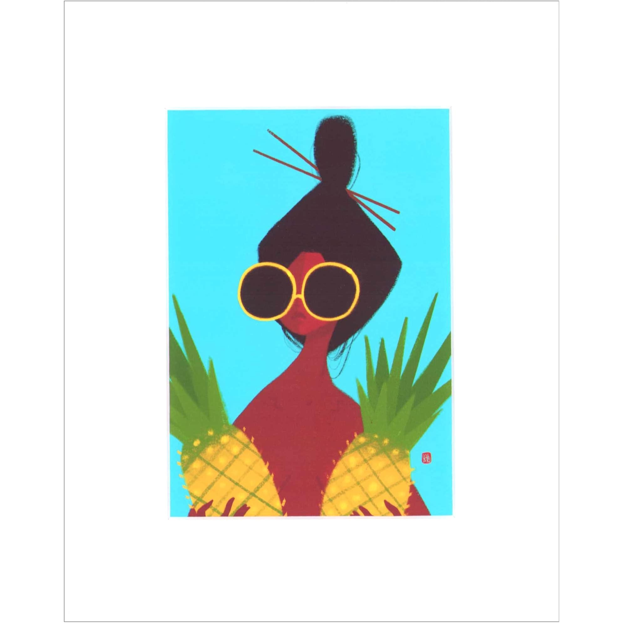 How's Den Pineapples / matt / S