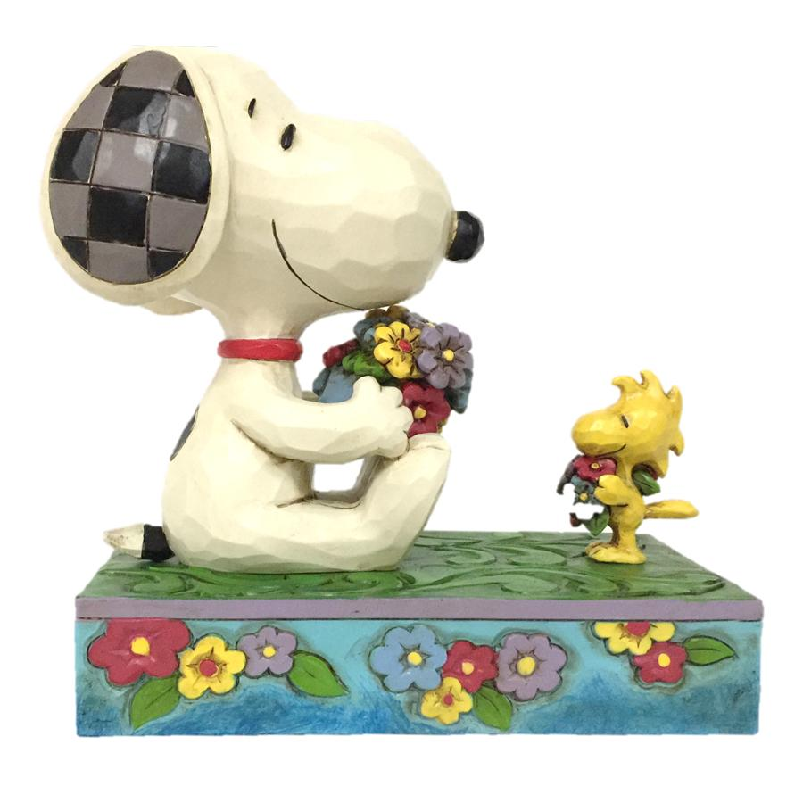 Snoopy 6005946 Snoopy and Woodstock Spring