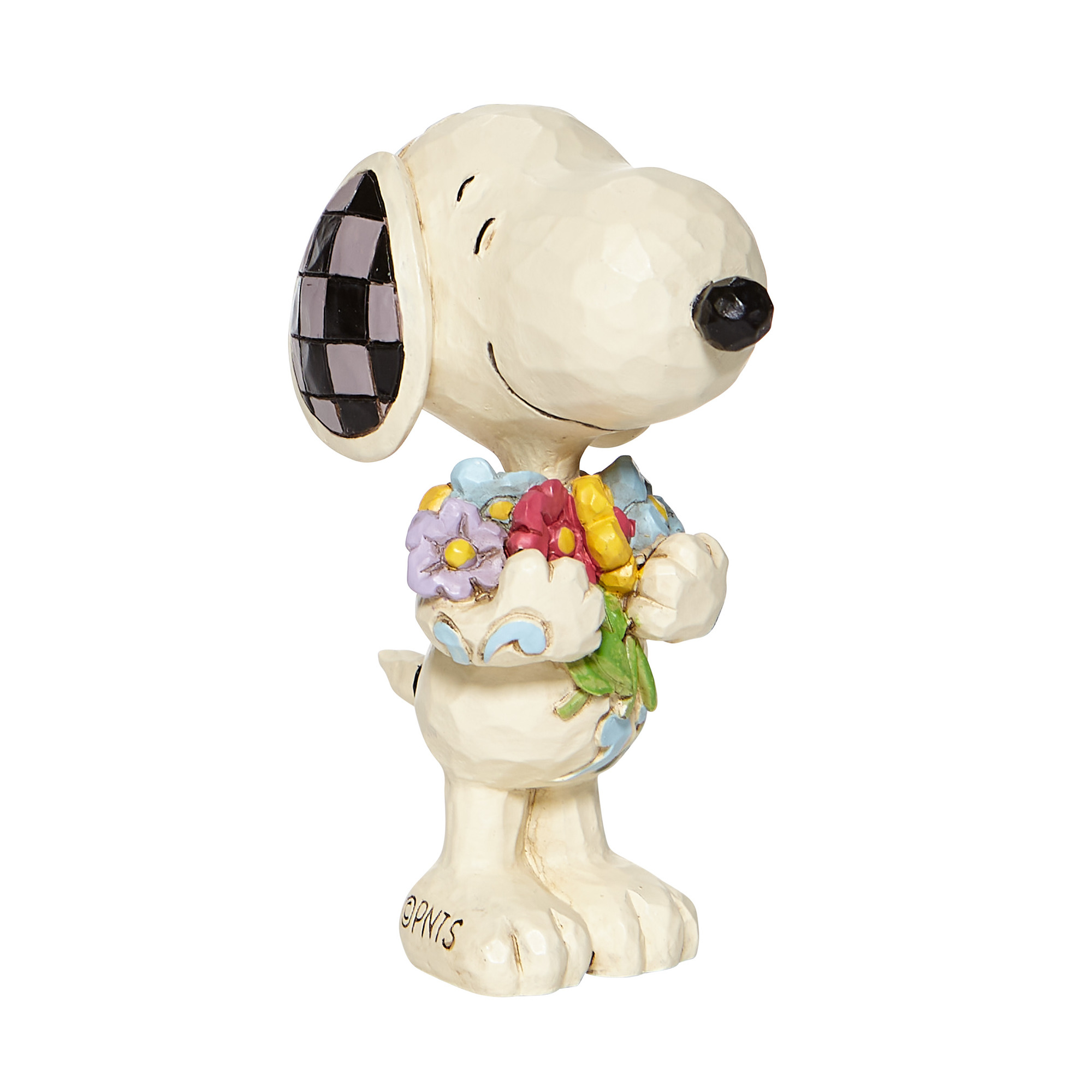 6007962 Mini Snoopy with Flowers